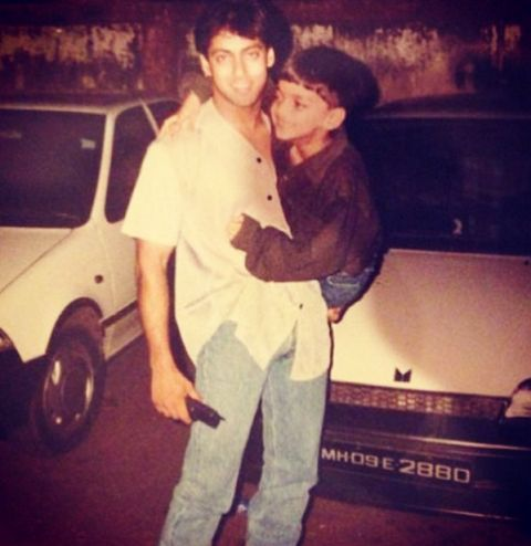 Salman Khan - Mid-1980s hairstyle
