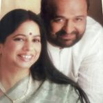 Sameer With His Wife Anita Pandey