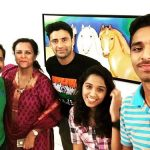Sangram Singh with his family