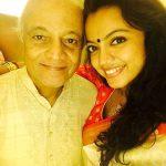 Sheetal Maulik with her father