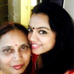 Sheetal Maulik with her mother
