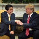 Shinzo Abe With Donald Trump
