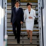 Shinzo Abe With His Wife