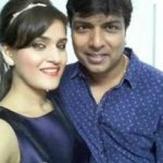 Shraddha Jaiswal with husband
