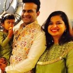 Siddharth Kannan daughter and wife