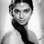 Simi Garewal in younger days