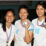 Sipora Gurung won bronze medal (Right Side)