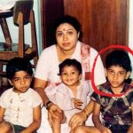 Siva Balaji with his mother and siblings (Childhood Picture)
