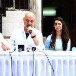 Soundarya Sharma with Anupam Kher