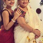 Sreejita De mother