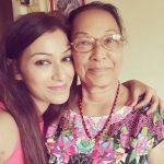 Sunayana Fozdar with mother