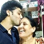 Suraj Kakkar with mother