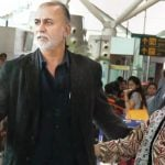 Tarun Tejpal with his wife
