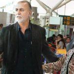 Tarun Tejpal with his wife