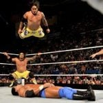 The Usos Samoan Splash finisher