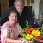 Tom Alter with his wife, Carol Evans