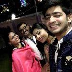 Vaishali Takkar with her family