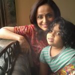 Vaishnavi MacDonald with her daughter