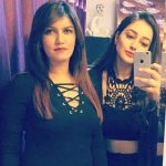 Vani Sood with her sister Shruti Rai