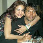 Veena Malik with Mohhamad Asif