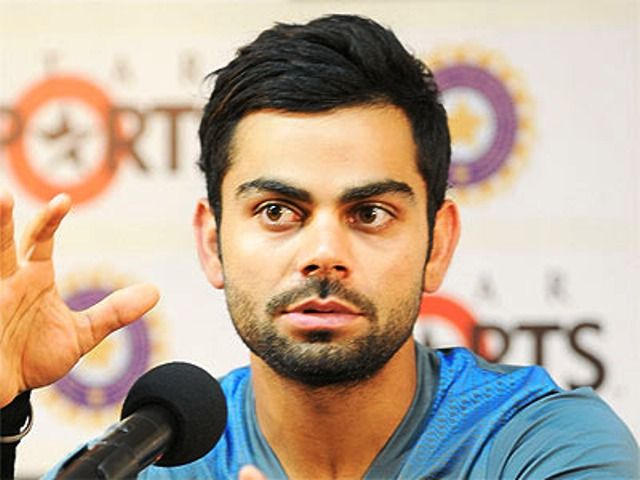 Virat Kohli - Goatees and moustaches with a trimmed scruff beard style