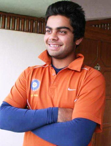 Virat Kohli - Medium Cut hairstyle