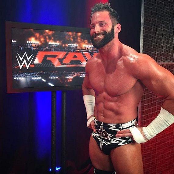 Wrestler Zack Ryder