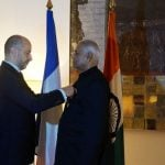 Yashwant Sinha With the Legion of Honour