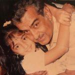 Young Munisha Katwani with father
