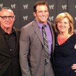 Zack Ryder with his parents