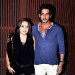 Zayed Khan with his wife