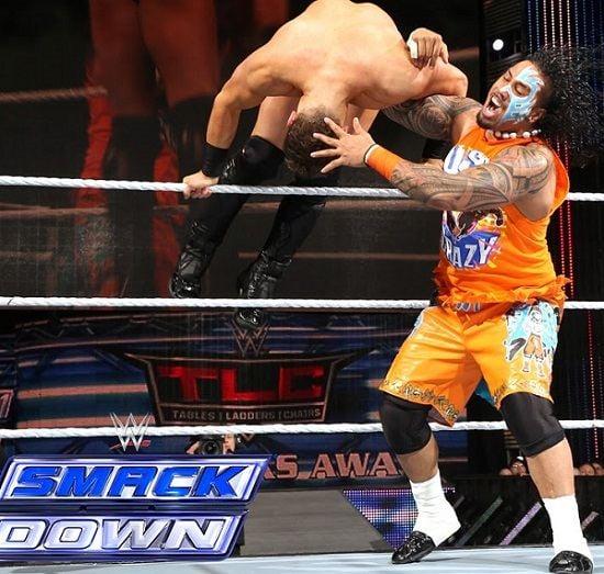 wrestler Jey Uso