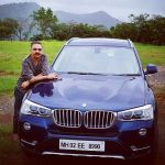 Bharat Kukreti with his car