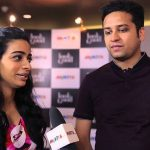 Binny Bansal with his wife