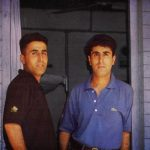 Captain Vikram Batra (left) and his Twin Brother Vishal