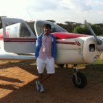 Divyank Turakhia airplane