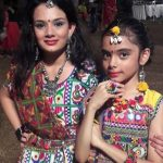 Drisha Kalyani with sister