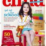 Harbandana Kaur on the coverpage of Child Magazine