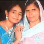 Harshita Dahiya with her mother
