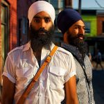 Jagmeet Singh (R) with his Brother (L)
