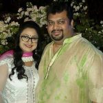 Jaya Ojha with Husband