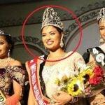Madhu Valli with Miss India worldwide title