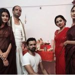 Mahek Thakur with family