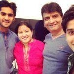Meghan Jadhav with his family