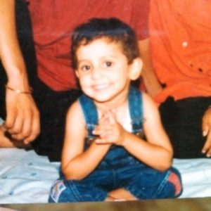 Mrinal K Singh's Childhood Photo