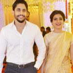 Naga Chaitanya with his wife Samantha Ruth Prabhu