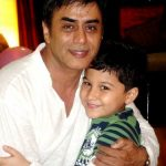 Pankaj Berry with his son