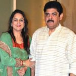 Pankaj with wife