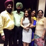 Prabhjeet Kaur with her family