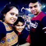 Praneet Sharma with his parents